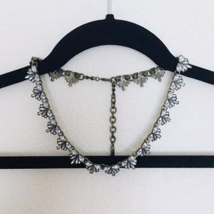 BaubleBar Crest Collar Necklace
